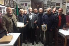 Visita del Presidente UNIMRI, Gianni Porcaro alla sezione Bersaglieri di Andria