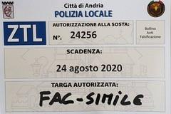 "Ass. Matera: ""Da lunedì distribuzione gratuita pass per la ZTL"""