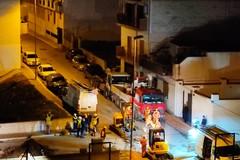Fuga di gas metano da un tronco principale: isolata via Laghi di Monticchio