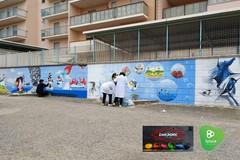 """E-wall, ovvero il primo """"muro ecologico"""" di Andria"""