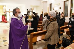 La Sacra Spina accolta a Canosa di Puglia