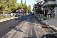 Terminati i lavori di bitumazione in via Bisceglie