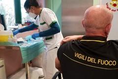 Avviata anche nella Bat la campagna vaccinale anti covid per i Vigili del fuoco