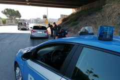 Controlli della Polizia di Stato sulla principali vie d'accesso ad Andria