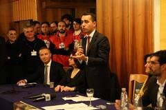 Il ministro degli Esteri Di Maio nuovamente ad Andria per la volata finale a Coratella Sindaco