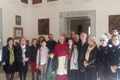Tradizionali auguri pasquali dell' Ordine Equestre del S. Sepolcro a Mons. Mansi