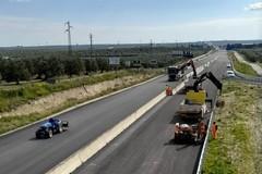 Assessore Piemontese con la consigliera Di Bari in visita al cantiere allargamento strada per Montegrosso