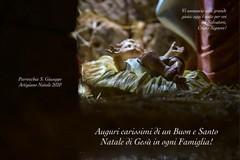 """""""Un Natale diverso"""": messaggio augurale in occasione del Santo Natale dalla parrocchia di San Giuseppe Artigiano"""