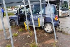 Spettacolare incidente stradale sulla sp 231: quattro feriti in codice rosso