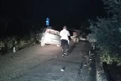 """Ennesimo incidente stradale sulla strada comunale di S. Brigida: quattro feriti trasportati al """"L. Bonomo"""""""