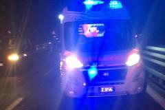 Auto con a bordo calciatori della Fidelis Andria finisce fuori strada