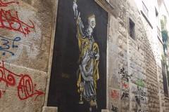 San Riccardo, Daniele Geniale dedica un murale al Santo patrono