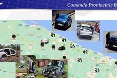 """Operazione """"On the road"""", nuove misure cautelari per 12 indagati di Andria e Corato"""