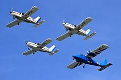 Attraverserà anche il cielo di Andria, il campionato italiano di rally di volo a motore