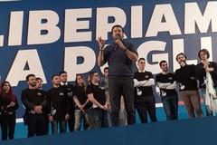 Regionali, Salvini: «Chi fa polemica danneggia la Puglia e si mette fuori dalla Lega»