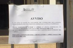 Agenzia delle Entrate, oggi assemblea in vista dello sciopero del 2 aprile