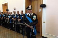 Il Generale dei Carabinieri Manzo in visita alla Caserma di viale Gramsci