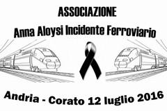 """Stage treni in Puglia, ass. Anna Aloysi: """"Incessante la nostra ricerca di verità"""""""