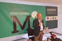 """Marmo candidato sindaco di quattro civiche: """"Niente compromessi solo Andria"""". FOTO e VIDEO"""