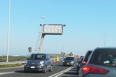 Rallentamenti sulla SS. 170 Andria Barletta per un cantiere stradale