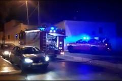 Bruciano sterpaglie nel quartiere San Valentino: intervengono i Vigili del Fuoco
