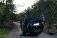 """Incidente mortale su via contrada Zagaria: un ferito in gravi condizioni al """"Bonomo"""""""