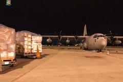 Protezione civile: altre forniture per l'emergenza Covid 19 arrivate in Puglia