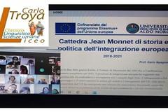"""A scuola di Europa: la cattedra Jean Monnet UNIBA e il liceo """"Carlo Troya"""" di Andria in una sfida comune"""