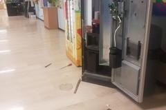"""Sventato furto alla scuola """"Salvemini"""": presi di mira i distributori automatici"""