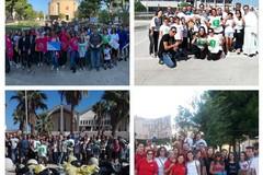 Da S. Maria Vetere, a S.Andrea per passare alla SS. Trinità: centinaia di cittadini rispondono all'appello dell'associazione 3 Place