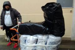 Andria al gelo, volontari nelle campagne per aiuto ai senzatetto