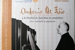 """""""Antonio De Fidio. La musica sacra di Andria"""": il 20 giugno presentazione e concerto in Cattedrale"""