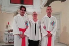 Cerimonia presso la Cattedrale per la vestizione di tre nuovi Crociferi