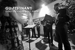 """""""Gli Festinanti"""": a Fucina Domestica coro a cinque voci miste diretto da Valeria Di Maria"""