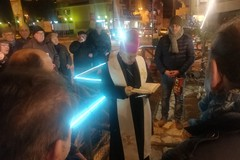 Presepe del quartiere Maraldo, una tradizione che si rinnova da cinque anni