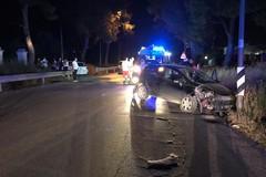Quattro feriti in incidente stradale su via Castel del Monte con incrocio per via vecchia Spinazzola