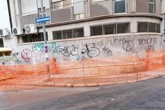 "Sistemato marciapiede retrostante ospedale civile ""Bonomo"""