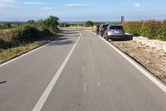 Due motociclisti rimasti feriti sulla strada che porta a Castel del Monte