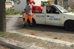 Interventi di diserbo a cura della Soc. Sangalli nella zona PIP