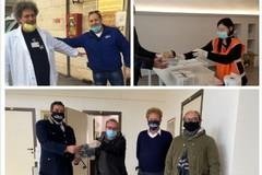 Ancora solidarietà degli andriesi verso gli operatori sanitari e delle Forze dell'ordine