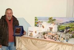 Mostra dei presepi artigianali: vince l'andriese Michele Roberto