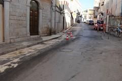 «Spigolo maledetto»: Pendio San Lorenzo chiusa per olio sulla strada