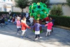 """Festa dell'albero 2016, al 1°Circolo """"Don Bosco Manzoni"""""""