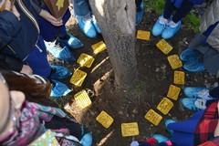"""Giornata della Memoria all'I.C. """"Verdi-Cafaro"""": posizionate Pietre d'Inciampo nel cortile della scuola"""