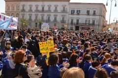 Marcia della Legalità di Libera, migliaia di studenti in Piazza