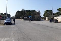 Controlli sulle strade di campagne: poche le autovetture in transito