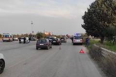 Tre feriti a seguito di tamponamento sulla strada tangenziale di Andria