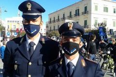 Premiati i due agenti della Polstrada che salvarono autotrasportatore da malore sul tratto Andria Canosa di Puglia