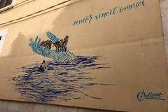 """Zinni (ESP): """"Un murales come una mano che salva e di contro delle firme come una mano che respinge"""""""