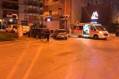 """Bici elettrica contro auto in piazza del Bersagliere: 32enne ferito trasportato al """"Bonomo"""""""